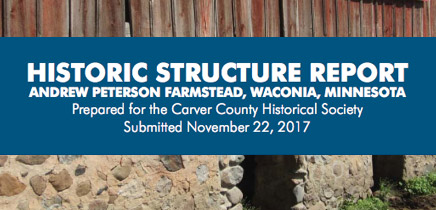 Historic Structure Report