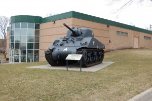 CCHS Building Exterior and Tank