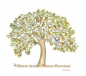 The Historic Andrew Peterson Apple Tree